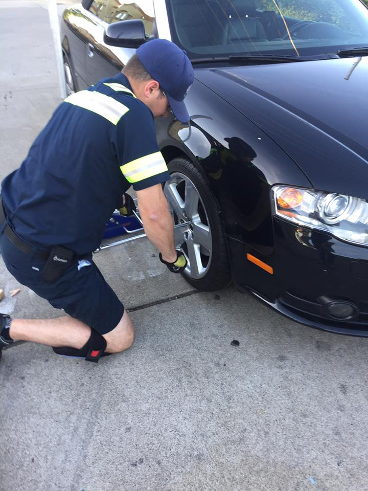 flat tire replacement in Leesburg VA